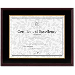 DAX1511TM - DAX MANUFACTURING INC. Hardwood Document/Certificate Frame w/Mat