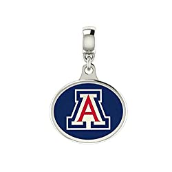 Arizona Wildcats Enamel Drop Charm