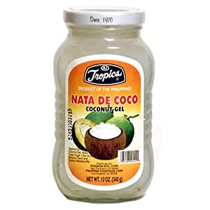 Amazon.com : Tropics Coconut Gel - Nata De Coco, 12-Ounce Jars (Pack ...