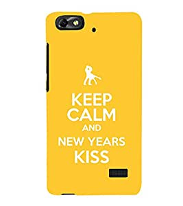 EPICCASE New year new love Mobile Back Case Cover For Xiaomi Redmi Mi4c (Designer Case)