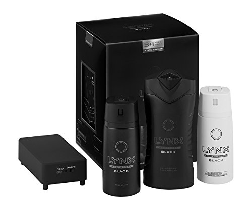 lynx-elite-touch-speaker-mens-gift-set