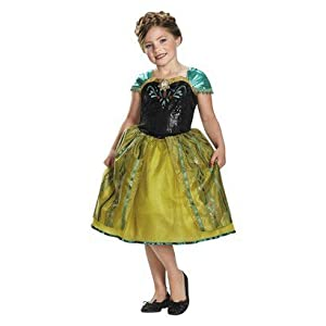 Girl's Frozen Anna Sequin Deluxe Costume