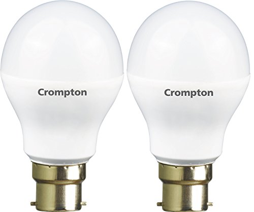 5W and 7W B22 LED Bulb (Cool Day Light, Pack of 2)