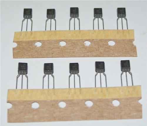 2N3904 NPN Transistor - Pack 10 - TO-92 Package - General Purpose Amplifier