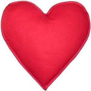 herzkissen mit innenkissen kissen in herzform bezug 100 baumwolle geschenk liebesbeweis. Black Bedroom Furniture Sets. Home Design Ideas