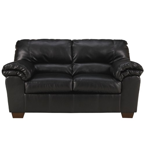 Signature Design by Ashley Commando Loveseat, Black