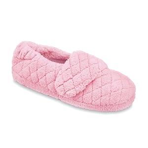 ACORN Women's Spa Wrap Slipper ,Slipper Pink,8 - 9 M US