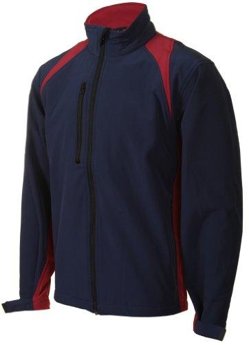 Mens Stylish Softshell Windproof Waterproof Jacket Coat - Large