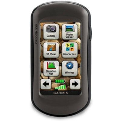 Garmin Oregon 550 - GPS receiver - hiking