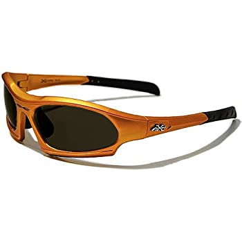 X-Loop Lunettes de Soleil - Sport - Cyclisme - Ski - Conduite - Moto - Plage / Mod. 5101 Orange / Taille Unique Adulte / Protection 100% UV400