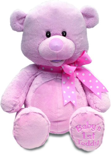 My First Singin' Teddy by Cuddle Barn (Pink)