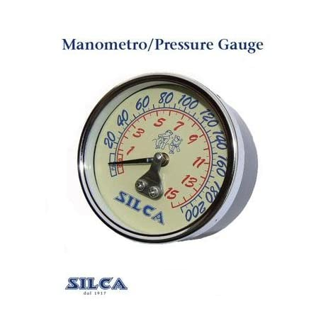 Silca 73.7 Super Pista/Pista Bicycle Floor Pump pressure Gauge - PE00019