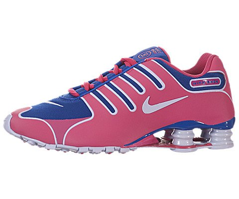 various colors 58138 f8b44 Nike Women s NIKE SHOX NZ NS WMNS RUNNING SHOES 7 5 Women US HYPER BLUE  PURE VIOLET PINK FORCE