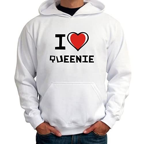 I love Queenie メンズパーカー