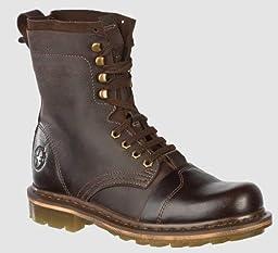 Dr. Martens Men\'s Pier Boot,Dark Brown,12 UK (US Men\'s 13 M)