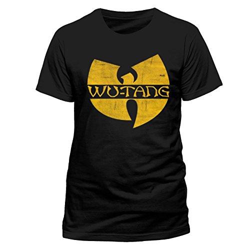 Wu-Tang Clan Wu Tang Clan Logo-T-shirt  Uomo    nero X-Large