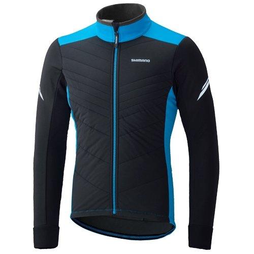 shimano-insulated-veste-homme-bleu-noir-modele-l-2016-impermeable-velo-homme