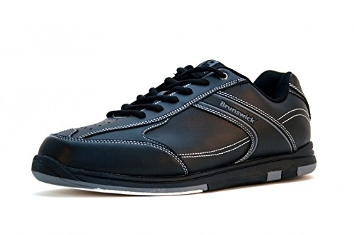 brunswick-flyer-tenpin-bowling-shoes-in-black-for-men-and-women-shoe-size425farbe-schuhenoir