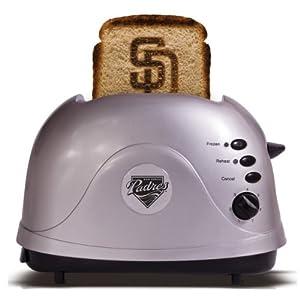 MLB San Diego Padres Protoast Team Logo Toaster by Pangea Brands