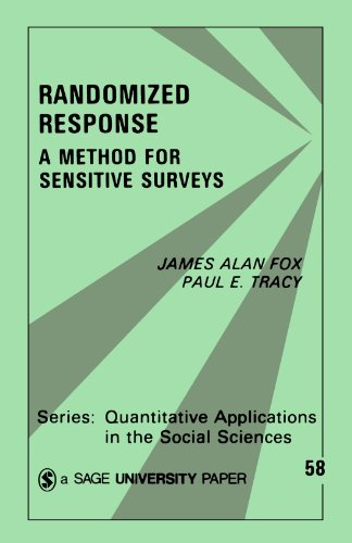 Randomized Response: A Method for Sensitive Surveys (Quantitative Applications in the Social Sciences)