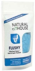 Flushy: Toilet Bowl Cleaner + Septic Treatment