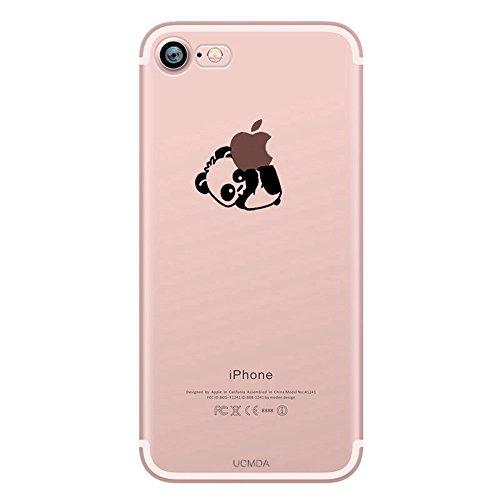custodia silicone iphone 7 trasparente