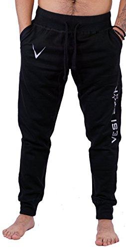 Vesi Star Men's Rival Fleece Jogger Pants (Large, Black M Jogger)