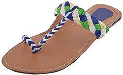 Green Apple Girls Synthetic Outdoor Sandals 7 UK