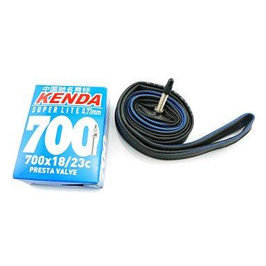 Xs Kenda Super Light 700C 18C-23C Fv 0.73Mm Thickness Rubber Material Inner Tube For Road Bike