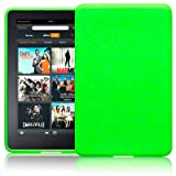 AMAZON KINDLE FIRE TABLET SILICONE SKIN CASE / COVER / SHELL - GREENby TERRAPIN