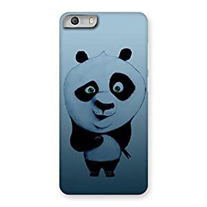 Gorgeous Panda Puzzled Multicolor Back Case Cover for Micromax Canvas Knight 2