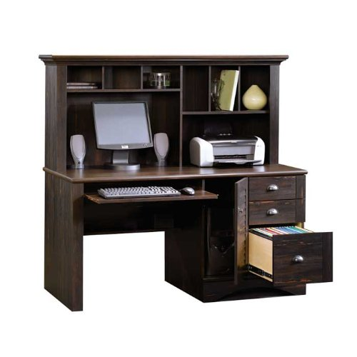 Buy Low Price Comfortable Harbor View Antique Computer Desk with Hutch (B005R0BWM8)