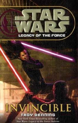 Cover of Invincible (Star Wars: Legacy of the Force, Book 9)