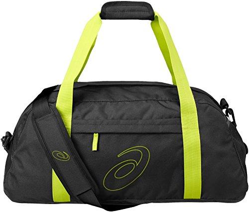 Asics Training Essentials Borsa Da Palestra, Colore Lime/Nero, Taglia 1