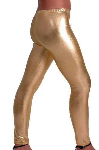 Leggins in Gold bei Amazon