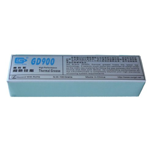 Gd Brand Gd900 High Performance Thermal Compound Gray 100 Grams Soft Tube Packing