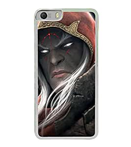 Scary Face 2D Hard Polycarbonate Designer Back Case Cover for Micromax Canvas Knight 2 E471