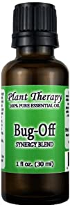 Bug Off Synergy. Essential Oil Blend. 100% Pure, Undiluted, Therapeutic Grade. (Blend Of:…