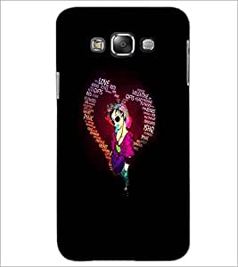 PrintDhaba Typographic Heart D-2720 Back Case Cover for SAMSUNG GALAXY GRAND MAX (Multi-Coloured)
