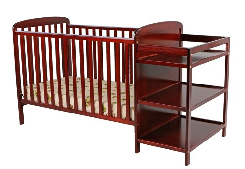 Great Deal! Dream On Me 2 in 1 Full Size Crib and Changing Table Combo