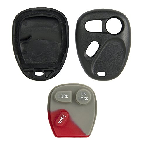 New Key Shell Remote Case For Gm Gmc Chevy Keyless Entry SHELL ONLY
