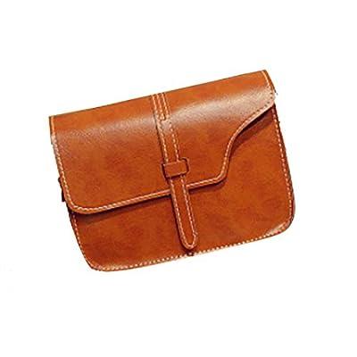 Sac à Main, Malloom fille de femmes sac à bandoulière en cuir faux sacoche à bandoulière sac à main fourre-tout