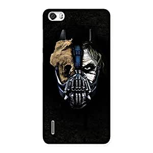 Delighted Mutation Multicolor Back Case Cover for Honor 6