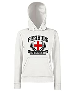 T-Shirtshock - Sweatshirt Hoodie Frauen TSTEM0037 freiburg im breisgau