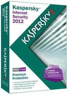 Brand New Kaspersky - Kaspersky Internet Security 2012 5 User (Works With: Win Xp,Vista,Win 7) front-671107