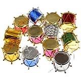Banggood Pack Of 12 Christmas Tree Plastic Snare Drum XMAS Hanging Decoration
