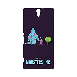 BLUEDIO Designer Printed Back case cover for Sony Xperia C5 - G3310