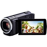JVC Everio GZ-HM35BUSD 1080p HD Flash Memory Camcorder | Black from JVC