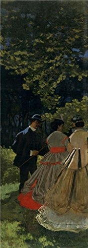 [Oil Painting 'Luncheon On The Grass, Left Panel, 1865 By Claude Monet', 30 x 85 inch / 76 x 216 cm , on High Definition HD canvas prints is for Gifts And Bar, Basement And Home Office Decoration,] (Homme Costume National)