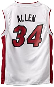 NBA Miami Heat Ray Allen Youth 8-20 Replica Home Jersey by adidas